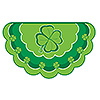 DISCONTINUED SHAMROCK BUNTING BANNER PARTY SUPPLIES