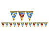 SUPER BOWL L (50) FLAG BANNER PARTY SUPPLIES