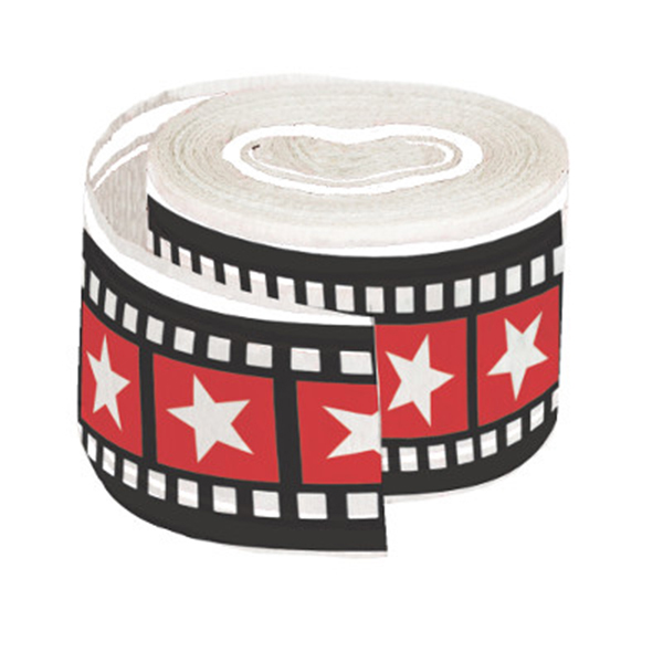 HOLLYWOOD LIGHTS CREPE STREAMER (12/CS) PARTY SUPPLIES