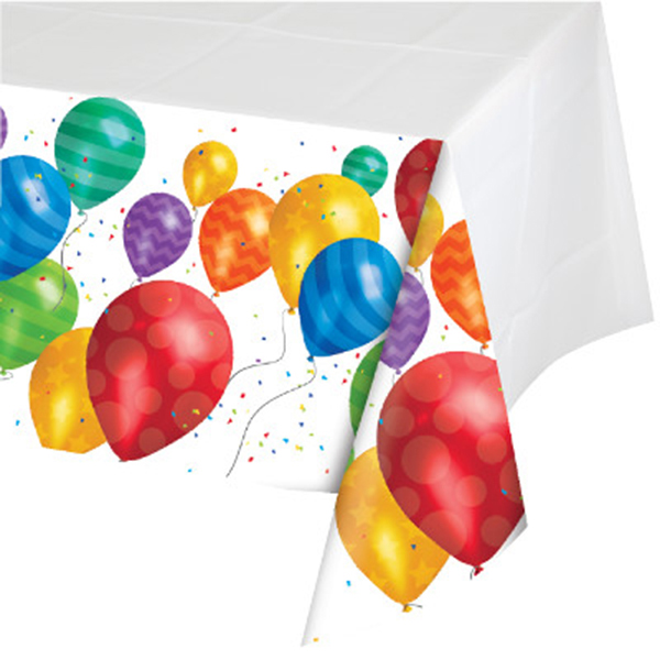 BALLOON BLAST TABLECOVER PARTY SUPPLIES