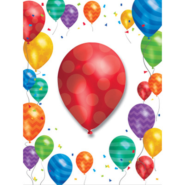 BALLOON BLAST INVITATION PARTY SUPPLIES