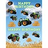 TRACTOR TIME STICKER PARTY SUPPLIES