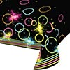 GLOW PARTY PLASTIC TABLECOVER PARTY SUPPLIES