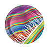 SERAPE DINNER PLATE (96/CS) PARTY SUPPLIES