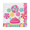 CANDY BOUQUET LUNCH NAPKIN PARTY SUPPLIES