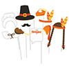 THANKSGIVING PHOTO PROPS (60/CS) PARTY SUPPLIES