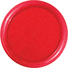 RED GLITTER 12 INCH ROUND TRAY (6/CS) PARTY SUPPLIES
