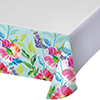 PAINTERLY FLORAL TABLECOVER (12/CS) PARTY SUPPLIES