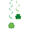 ST PATS DIZZY DANGLERS SHAMROCKS (60/CS) PARTY SUPPLIES
