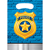 POLICE PARTY TREAT SACK PARTY SUPPLIES