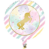 UNICORN SPARKLE FOIL BALLOON PARTY SUPPLIES
