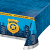 POLICE PARTY PLASTIC TABLECOVER PARTY SUPPLIES