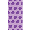 AMETHYST PURPLE CELLO BAGS (240/CS) PARTY SUPPLIES