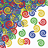 MULTICOLOR CONFETTI SWIRLS (12/CS) PARTY SUPPLIES