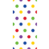 MULTICOLOR DOTS CELLO BAGS (240/CS) PARTY SUPPLIES