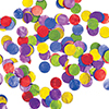 MULTICOLOR TISSUE CONFETTI (12/CS) PARTY SUPPLIES