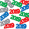 2019 CONFETTI ASSORTED COLORS (12/CS) PARTY SUPPLIES