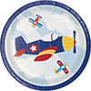 LIL FLYER AIRPLANE DESSERT PLATE PARTY SUPPLIES