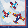 LIL FLYER AIRPLANE LUNCH NAPKIN PARTY SUPPLIES
