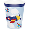 LIL FLYER AIRPLANE HOT-COLD CUPS PARTY SUPPLIES