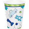 DISCONTINUED DOODLE 1ST BOY HOT-COLD CUP PARTY SUPPLIES