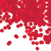 RED TISSUE CONFETTI (12/CS) PARTY SUPPLIES