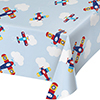 LIL FLYER AIRPLANE TABLECOVER PARTY SUPPLIES