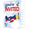 LIL FLYER AIRPLANE INVITATION PARTY SUPPLIES