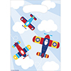LIL FLYER AIRPLANE LOOT BAG PARTY SUPPLIES