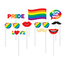 PRIDE PHOTO BOOTH PROP PARTY SUPPLIES