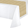 GOLD GLITTER TABLE RUNNER (6/CS) PARTY SUPPLIES