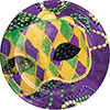 MASKS OF MARDI GRAS DINNER PLATE PARTY SUPPLIES