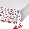 NAUTICAL ANCHOR TABLECOVER PARTY SUPPLIES