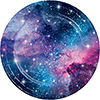 GALAXY PARTY DINNER PLATE PARTY SUPPLIES