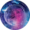 GALAXY PARTY DESSERT PLATE PARTY SUPPLIES
