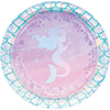 MERMAID SHINE DESSERT PLATE PARTY SUPPLIES