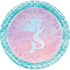 MERMAID SHINE DINNER PLATE PARTY SUPPLIES