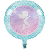 MERMAID SHINE FOIL BALLOON PARTY SUPPLIES