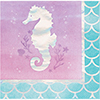 MERMAID SHINE BEVERAGE NAPKIN PARTY SUPPLIES