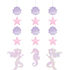 MERMAID SHINE HANGING CUTOUTS PARTY SUPPLIES