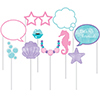 MERMAID SHINE PHOTO BOOTH PROPS PARTY SUPPLIES