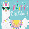LLAMA PARTY LUNCHEON NAPKIN BIRTHDAY PARTY SUPPLIES
