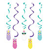 LLAMA PARTY DIZZY DANGLERS PARTY SUPPLIES