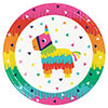 FIESTA FUN DINNER PLATE (96/CS) PARTY SUPPLIES