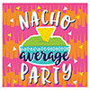 FIESTA FUN BEVERAGE NAP NACHO (192/CS) PARTY SUPPLIES