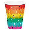 FIESTA FUN HOT-COLD CUP 9OZ (96/CS) PARTY SUPPLIES