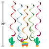 FIESTA FUN DANGLERS (30/CS) PARTY SUPPLIES