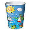 DISCONTINUED CALYPSO HOT/COLD CUP (9OZ.) PARTY SUPPLIES