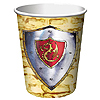 VALIANT KNIGHT HOT/COLD CUP (9OZ) PARTY SUPPLIES