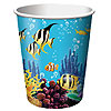 OCEAN PARTY CUPS PARTY SUPPLIES
